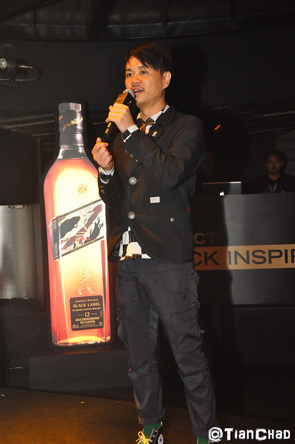 Johnnie Walker Project Black Inspiration @ Zouk club