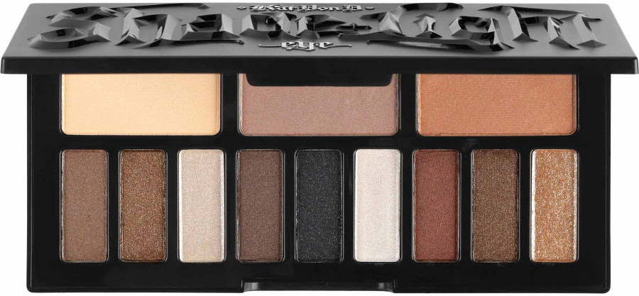 Kat Von D Shade + Light Glimmer Eye Contour Palette Swatches