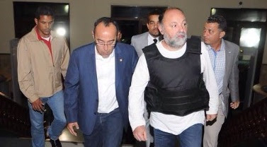 Trasladan a Fiscalía DN a francés acusado fuga de pilotos