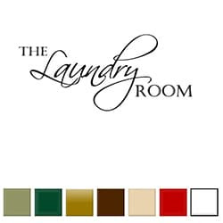The Laundry Room' Vinyl Wall Art Decal | Overstock.com Shopping