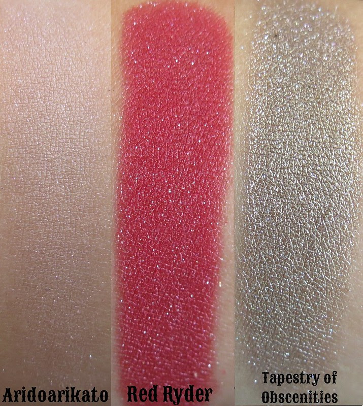 A Darling Girl Christmas Story Eyeshadows