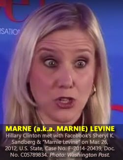 Marne (aka Marnie) Levine. (Dec. 6, 2012). Facebook VP of Global Public Policy. Washington Post Live.
