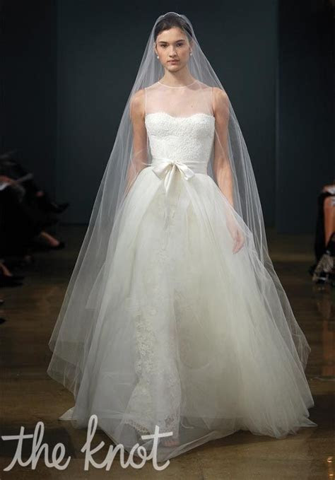 Two piece lace and tulle wedding gown with detachable