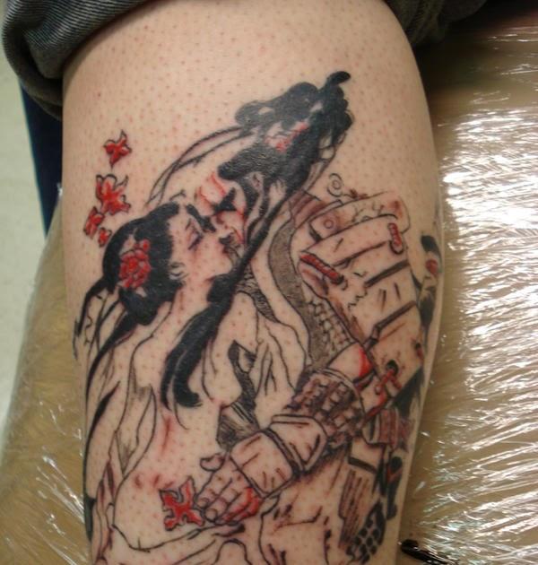 Tattoo Designs Uk Men: Geisha Tattoos