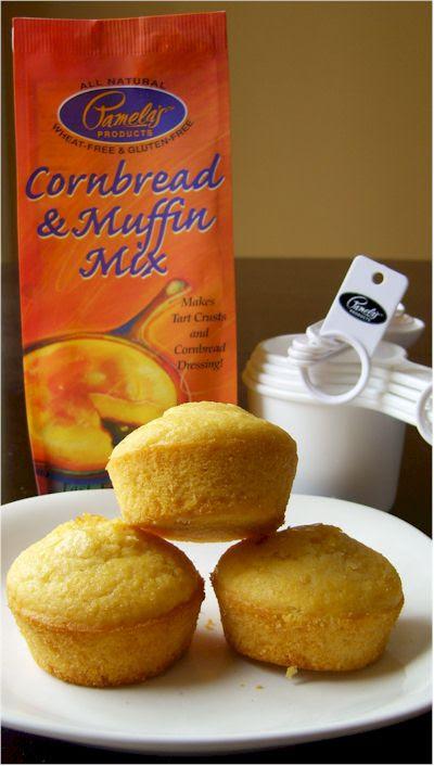 Pamela's Gluten-Free Cornbread & Muffin Mix II - Go Dairy Free