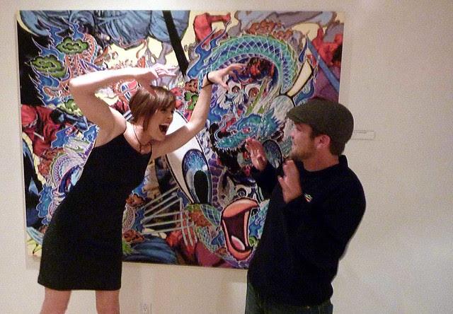 P1040295-2010-09-29-Artist-Trifecta-Reception-Amanda-Brown-JD-McGuire