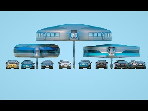 एक gyroscopic वाहन अवधारणा के बारे में यह वीडियो