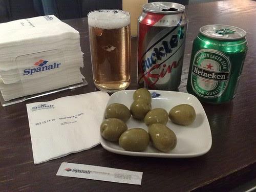 Buckler Sin, Heineken, and Olives