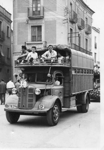 Festa de Sant Cristòfol: 10 de juliol de 1956