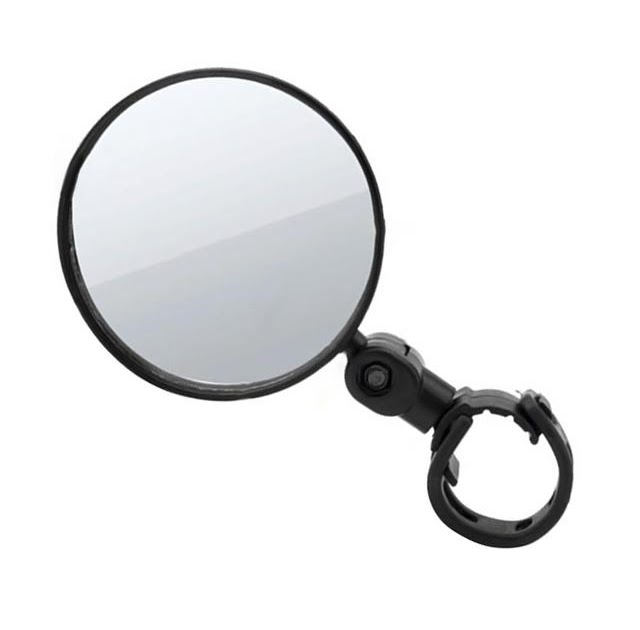 Silicone Rear View Wide Angle Bicycle Convex Mirror Bike Rearview Handlebar