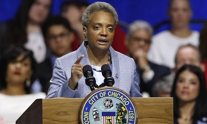 Chicago's first black female mayor took a position