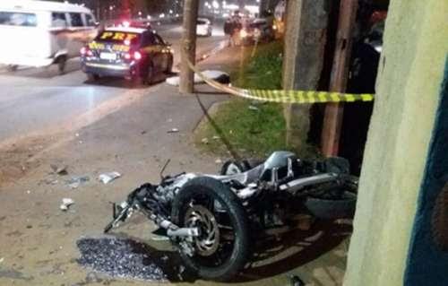 Goioxim - Jovem motociclista goioxinhense morre após tentar ultrapassagem em Curitiba