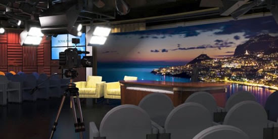Royal Princess Horizon tv Studio