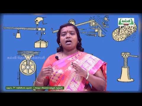 4th Science வேலை மற்றும் ஆற்றல் பருவம் 1 அலகு 3 பகுதி 2 Kalvi TV
