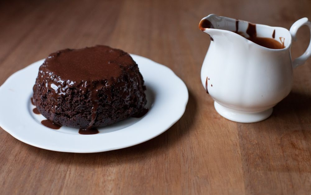 Steamed Chocolate Sponge Pudding