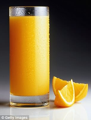 Children who drink fruit juice at breakfast are more likely to be obese, a Vienna study found
