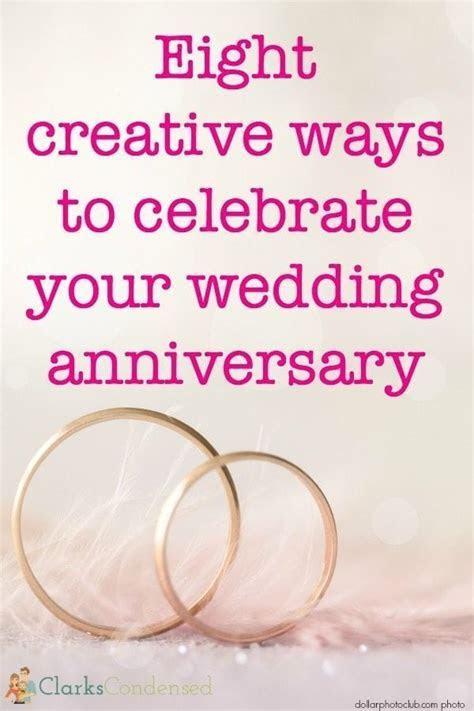 Creative Anniversary Celebration Ideas