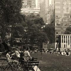 Bryant park a Nova York