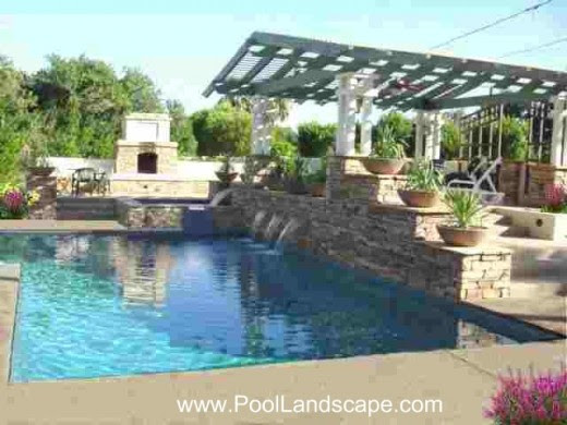 Pool, Landscape and Gardening Ideas