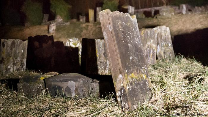 vandalized graves in France