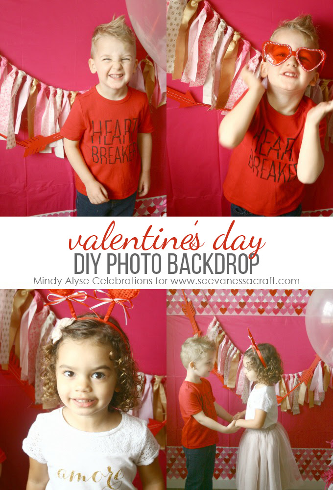 Party Diy Valentines Day Photo Booth See Vanessa Craft