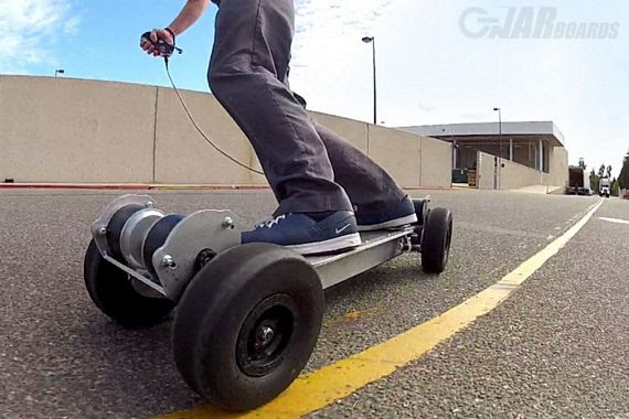 Gnarboards Trail Rider 4 Wheel Drive Electric Skateboard