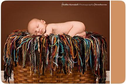 Mollie Kendall rocks my Super Bohemian Fringie yarn photo prop!