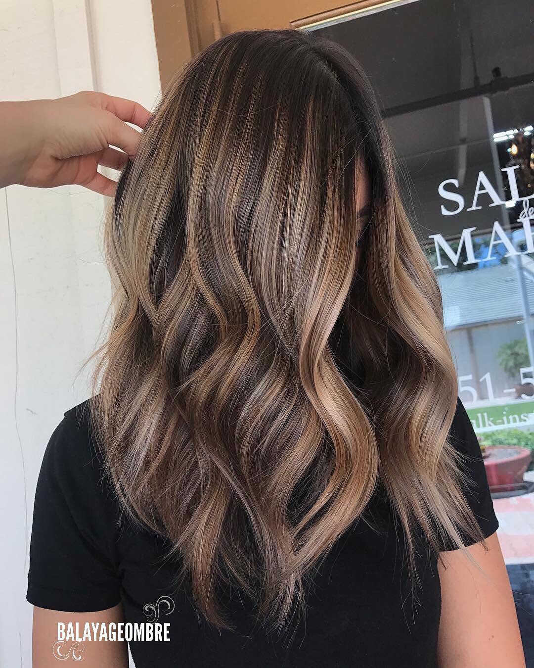 Layered Medium Length Hairstyles For Thick Hair 2018