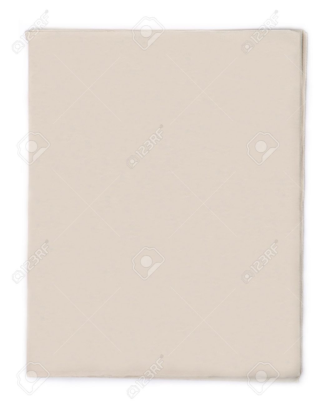 Blank Newspaper Stock Photo, Picture And Royalty Free Image. Image ...
