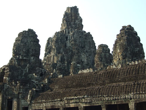 Side view of Bayon Temple
