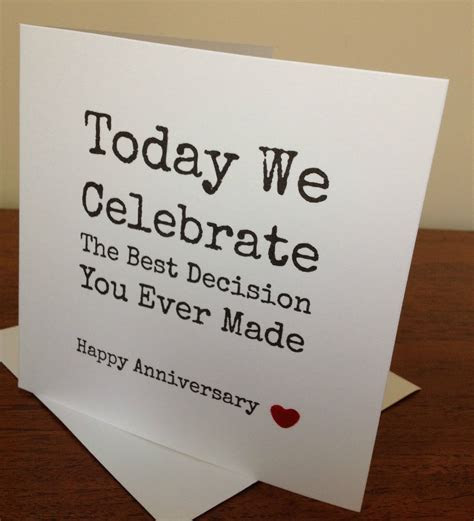 #Handmade wife/husband #anniversary card  . #funny