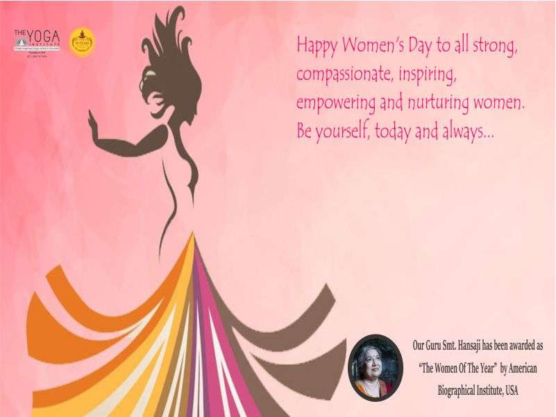 International Womens Day The Yoga Institute