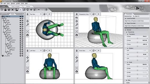 Parametric 3d Human Model