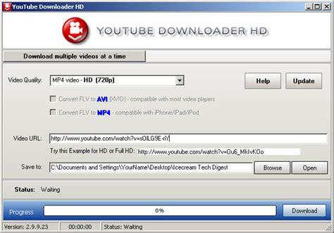 youtube downloaders  windows icecream tech