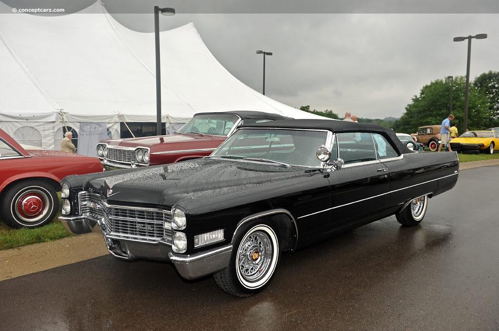 1966 Cadillac DeVille (Coupe DeVille) - Conceptcarz