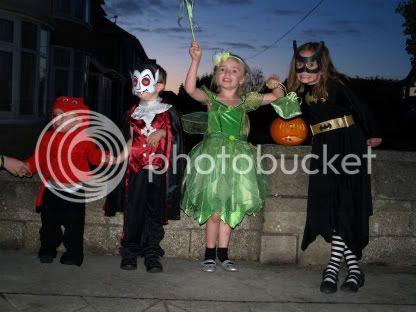 Youngest 4 Fyfes Halloween 2010
