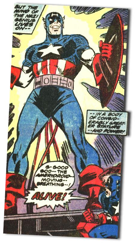 Captain America #220 - AMERIDROID!!!!!