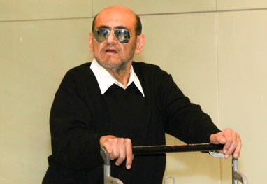 Abatido após morte de Chespirito, Edgar Vivar desembarca em São Paulo  - Manuela Scarpa e Marcos Ribas/Photo Rio News