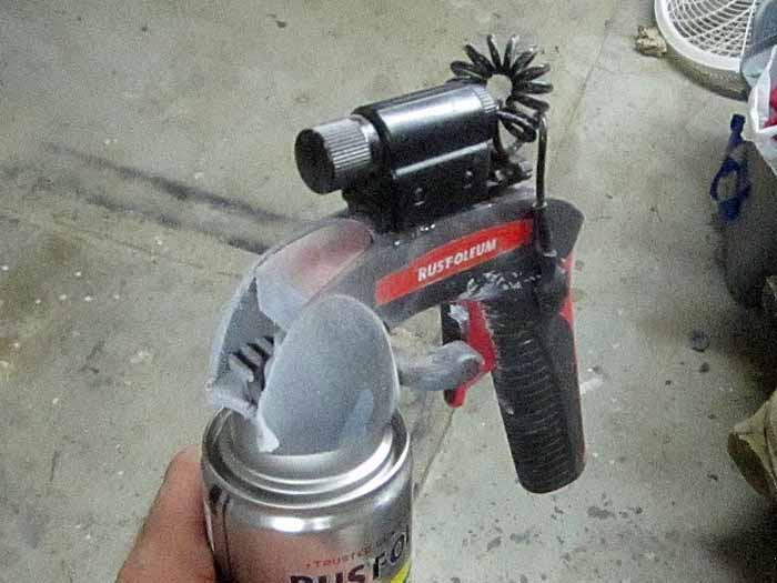 Tacticool Spraycan Closeup