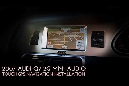 2007 Audi Q7 Navigation System