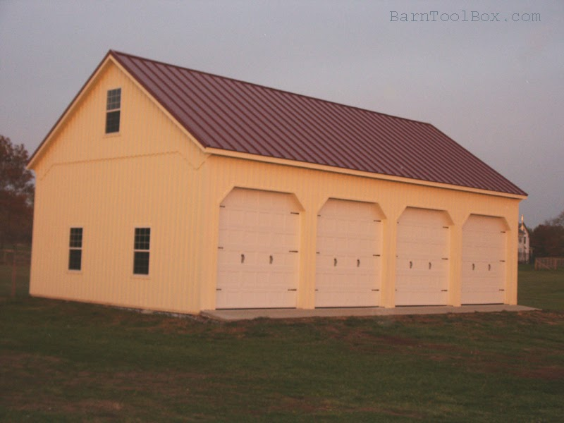 Lean to shed learn pole barn addition plans for Adding onto a pole barn
