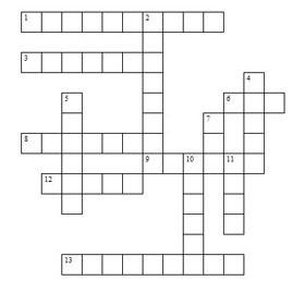 free easy crossword puzzles: Free Printable Crossword Puzzles