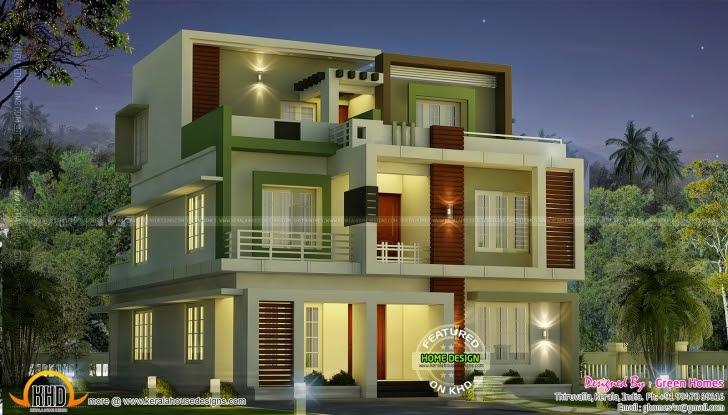2nd Floor House Front Design House Floor Plan Ideas
