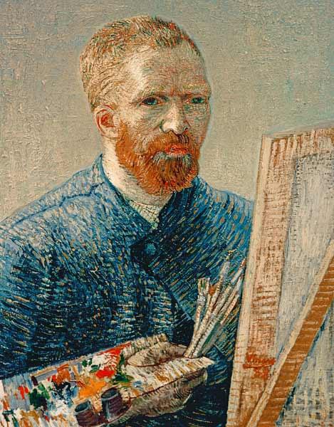 Vincent Van Gogh - Van Gogh / Self-portrait / 1888