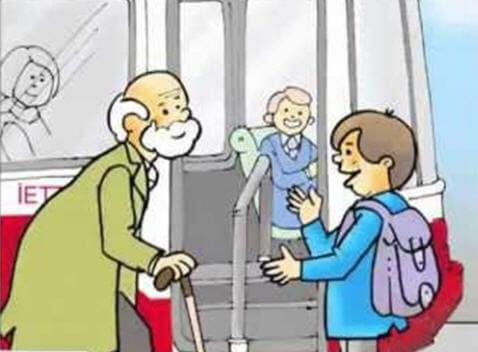 Toplu Taşıtlarda Görgü Ve Nezaket Kuralları