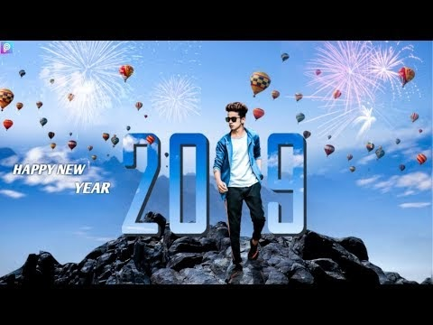 Happy New Year Editing PicsArt 2019 | PicsArt Editing Tutorial 2019