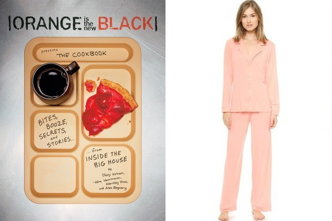 "<strong>Eberjey</strong> Gisele PJ Set in Orange Sherbert, $120, at <a href=""http://bit.ly/1sLKq98"" target=""_blank"">shopbop.com</a>"