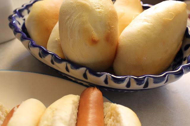 Homemade Hotdog Buns