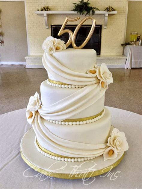 Cake That! Inc.: 50th Wedding Anniversary