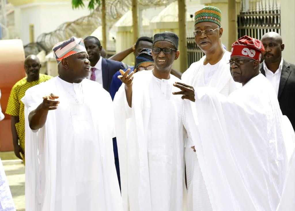 Tinubu, Saraki, Dogara grace Buhari's daughter's wedding